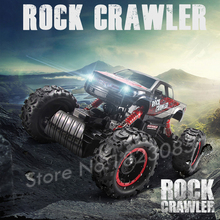 1:14 RTR Remote control Brushed Monster Truck Off road Car Big Foot ELECTRIC POWER BUGGY RC Fast Off road Car Model With Light