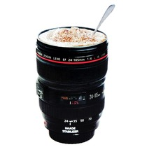 Stainless Lens Camera Lens Cup 24-105mm Travel Coffee Mug cup Tea Hot Sale(China)