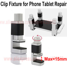 Adjustable Universal Plastic Clamps Fixture For iPhone Fixture For iPhone iPad Tablet Samsung LCD Digitizer Screen Repair tool(China)