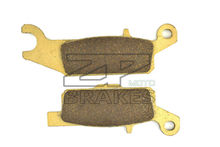 Brake Pads For ATV YAMAHA YFM 700 FGPSEY/Z/A/B/D/E Grizzly FI Auto 4x4 EPS Special Edition 2009-2014 Rear(Right) OEM New