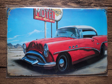 NEW 2015 about cool car retro metal Tin Signs Vintage House Cafe Restaurant ANIMALS Poster Metal Craft ART 20*30 CM(China)