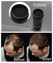 TOPPIK Hair Fibers new design 27.5g Natural powders for hair growth hair wigs(China)