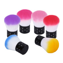 Belen Professional Soft Cosmetic Powder Foundation Blush Brush Nail Art Makeup Tool For Acrylic & UV Gel Nail Art Dust Cleaner(China)