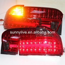For PROTON for Wira LED Tail lamp Red Black color 1992-up Year YZ