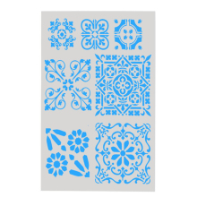 DIY Craft Hollow Layering Stencils For Wall Painting Scrapbooking Stamping Stamp Album Decorative Office School Supplies #4(China)