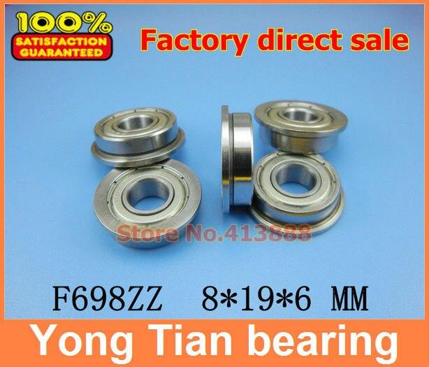 LOT 1 8x19x6 mm 698-2RS Hybride Céramique Caoutchouc Roulement à billes Bearings 698RS