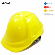 XLONG 2017 New Safety Helmet Hard Hat Building Work Cap ABS Insulation Material Construction Site Insulating Protect Helmets(China)