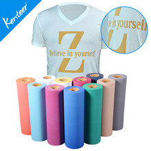 Q7 Kenteer 50cm*25m One Roll Flock Heat Transfer Vinyl For Bag