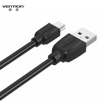 Vention Mini USB Cable Mini USB to USB Data Charger Sync Cable 0.25M/1M/2M For MP3 MP4 GPS Camera HDD Phone Tablet PC