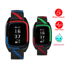 Buy Smart Watch New Smart Smart Wristband Watch Blood Pressure Fitness Tracker Heart Rate Monitor IP68 Waterproof iOS Android for $33.78 in AliExpress store