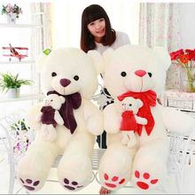 Hot Sale 55 cm mommy baby bear stuffed animal teddy bear plush toys Mother bear Valentine's day gifts(China)
