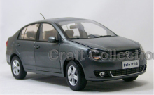 Grey 1:18 Volkswagen VW New POLO Sedan Saloon Alloy Model Diecast Show Car Classic toys Scale Models