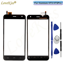 "Buy 5"" HT3 Pro Touchscreen Front Panel Homtom HT3 HT3Pro Touch Screen Sensor LCD Display Digitizer Outer Glass Lens Replacement for $7.46 in AliExpress store"