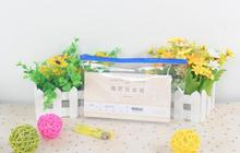 10pcs/lot Brand New Clear Transparent PVC Plastic Pencil Case Eraser Stationery Case Zipped Bag Pouch School Office Supplies