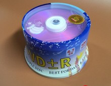 Wholesale 50 Discs Cake Box Bananas Grade A 4.7GB 16x Blank Printed DVD+R Disc