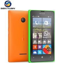 "Original Nokia Microsoft Lumia 435 unlocked cell phone Dual-core 8GB ROM 1GB RAM 4.0"" Touch screen windows phone mobile phone(China)"