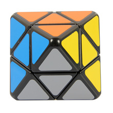 Brand new high quality LanLan Brand New LL Black 8-Axis Octahedron Magic Cube Puzzle Educational Toy Special Toys magico cubos(China)