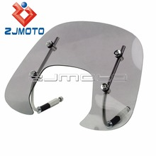 New Motorcycle Scooter Windshield Wind Deflector For VESPA SPRINT150 Flyscreen