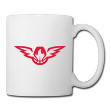 Atlanta Basketball Logo coffee mug colorful car tazas ceramic tumbler caneca tea Cups
