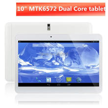 Tablet pc Big discount!10 inch MTK6572 3G Phone Call dual core/camera/SIM card GPS+Flashlight+Bluetooth Android4.4 free shipping(China)