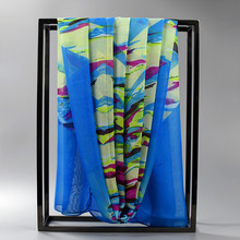 [SUMEIKE] 160*50CM Cheap Scarf Female Ladies Summer Scarf Women 2016 Spring Chiffon Scarves
