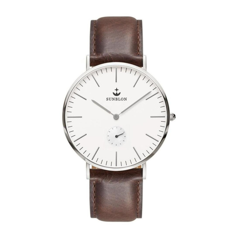 2017 Casual classic Womens watch Quartz Stainless Steel simple Watch With Leather Band new relogio feminino Dropshipping NMB20<br>