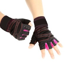 Best price Half Finger Gloves Fitness Exercise Wrist Multifunction for Men & Women Sweat Absorption Friction Resistance Gloves(China)