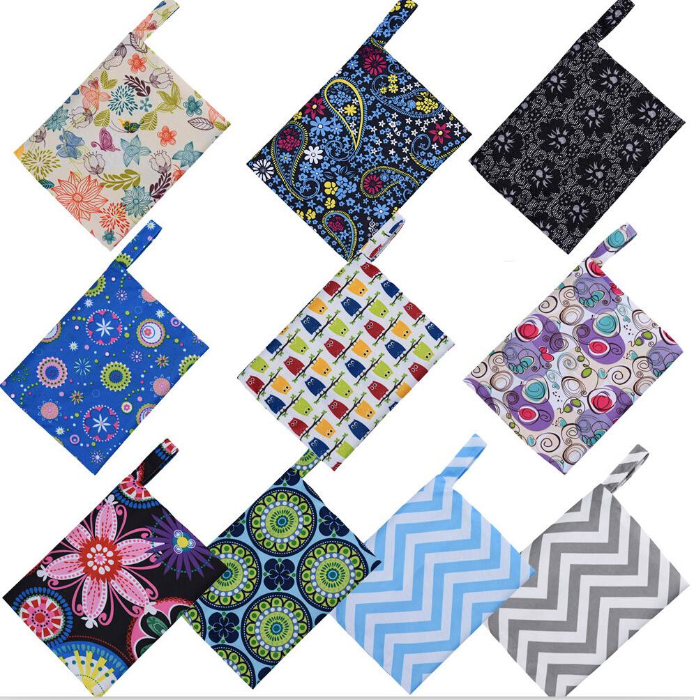 New Reusable Bamboo Charocoal Washable Menstrual Pad Mama Sanitary Towel Pad Practical Feminine Hygiene Product 1pc Pretty 9