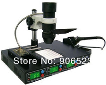EMS / DHL free shipping PUHUI T862 IR DA WELDER BGA SMD infrared soldering station(China)