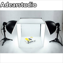 New Professional Portable Mini Photo Studio Softboxes 40*40 Light Tent Portable Studio mini photo tent photo light kit cd50(China)