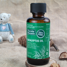 Thursday Plantation Eucalyptus Oil 100% Pure 100ml relieves cold flu symptoms mild arthritic muscular aches pains Massage oil(China)