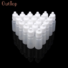 Beauty Girl 2017 25/50/100PCS 10ml Empty Plastic Squeezable Dropper Bottles Eye Liquid Dropper Sample Eyedropper Person Care(China)