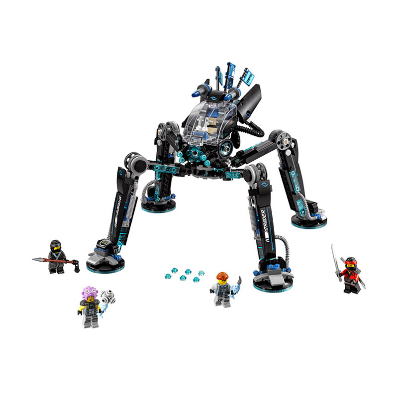 Lepin Pogo Bela 10717 518PCS+ Ninjagoe Water Stridered Building Blocks Bricks Compatible with Legoe Toys<br>