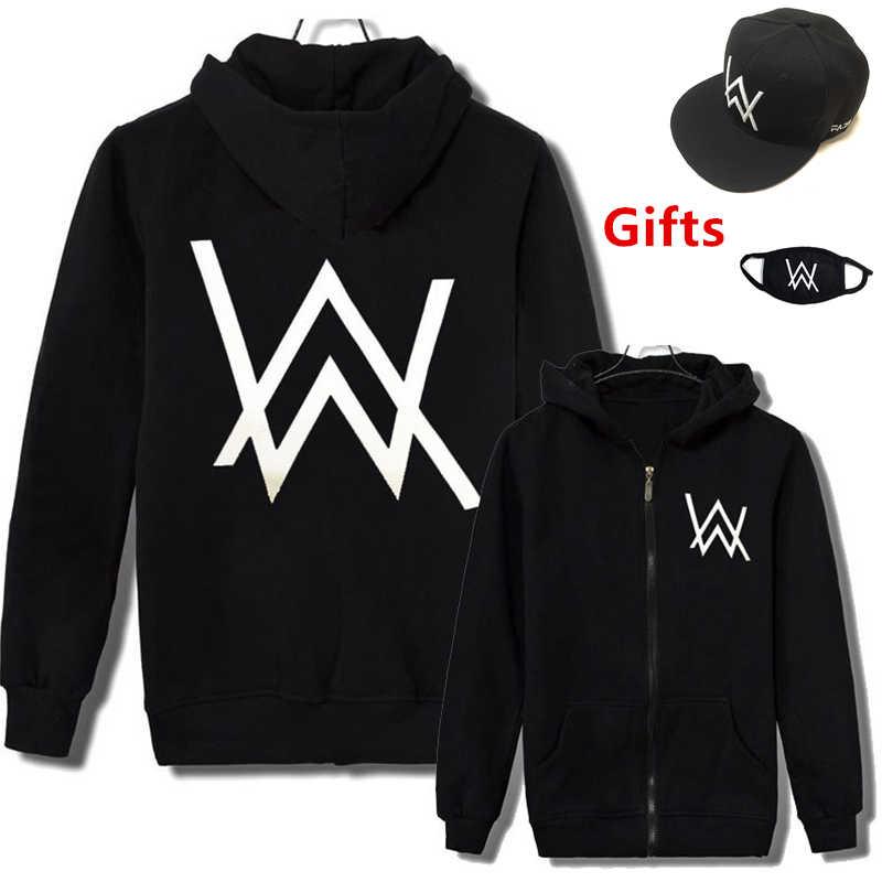 Casquillo y la máscara como regalos Alan Walker hoodies hip hop Rapper Bboy  hombres mujeres DJ 65407498d25