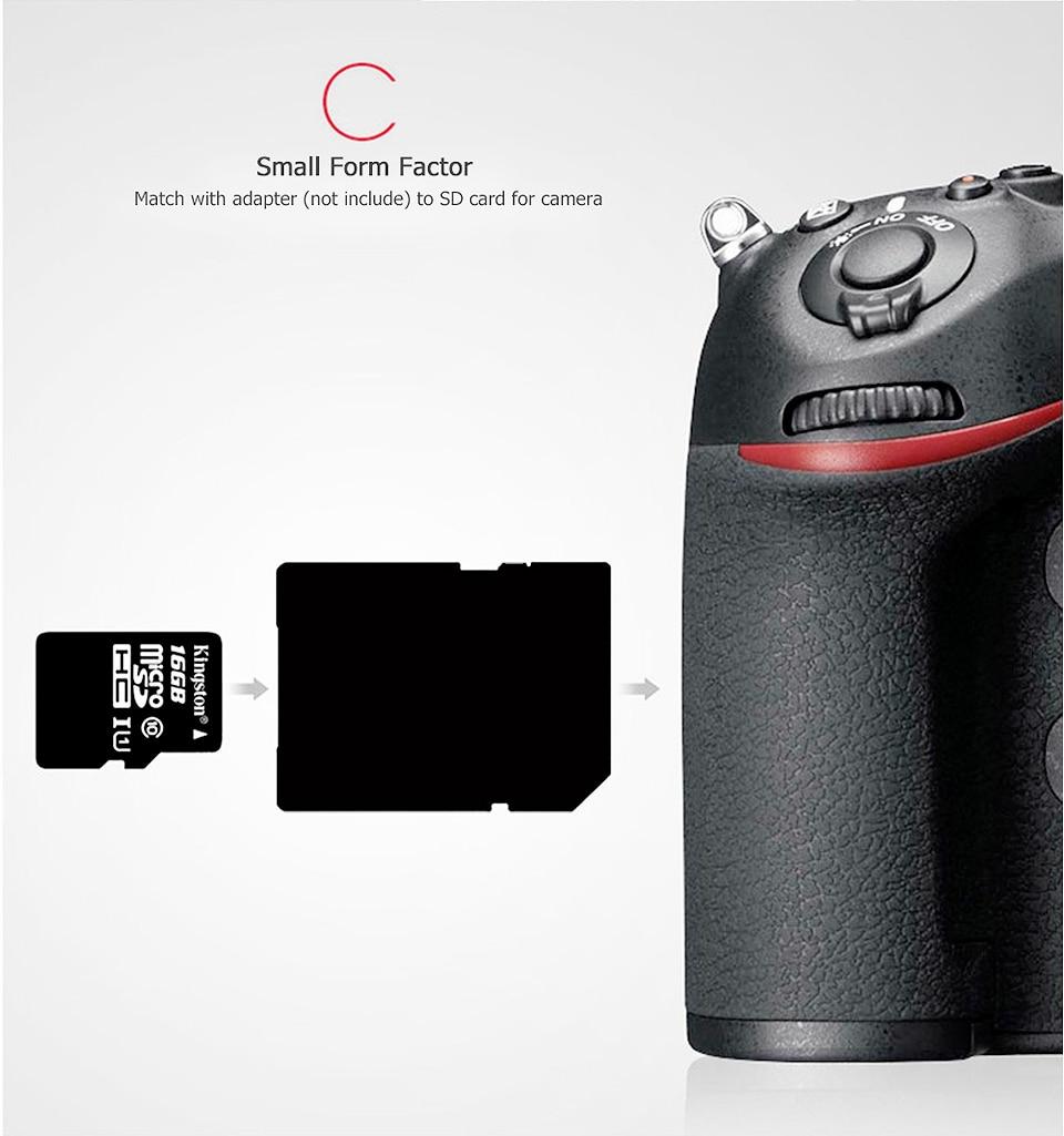 Kingston Class10 Micro Sd Card 16GB Memory Card Mini Sd Card16GB SDHC TF Card For Sony xperia z2 z3 z5 For HUAWEI p7 8 9mate9 (3)