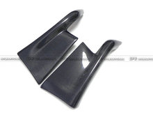 Carbon Fiber TS Style Top Secreet Rear Bumper Spat Add On Extensions Aprron Canard Body Kits For Nissan Skyline R32 GTR
