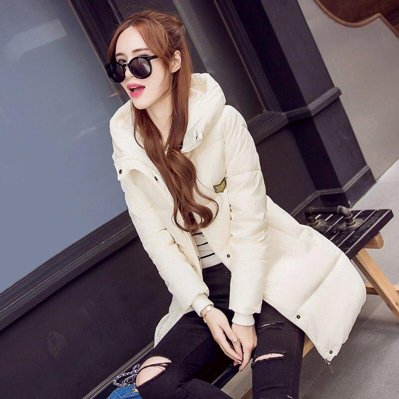 New 2016 winter jacket women Long Casual Fashion Women Parka Female Hooded Coat  Parka Plus Size Cold Warm outwea  JN736Одежда и ак�е��уары<br><br><br>Aliexpress
