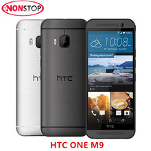 "M9 Original Unlock Mobile Phone HTC One M9 Refurbished 20.0MP 4G LTE WCDMA GPS WIFI NFC 5.0"" Octa Core Android 5.0(China)"