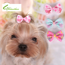 Candy Color Dog Bows Dog Grooming Accessories Hairpins Cat Hair Clips Brand New DIY Dog Hair Bows Boutique Retail Wholesale(China)