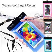 Waterproof Diving Bags Pvc Out Door WaterProof Pouch Mobile Phone Case Cover For Motorola Moto E E2 G G2 G3 X X2