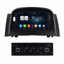 "2GB RAM Octa Core 7"" Android 6.0 Car Radio DVD Player for Renault Megane II 2004-2009 With GPS Bluetooth 4G WIFI USB Mirror link"