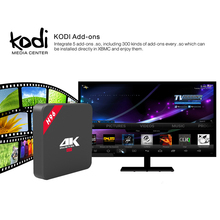 Kodi fully Loaded H96 IPTV Box 4K Android TV Box RK3229 Quad core Cortex A7 Media Player support kodi Smart Set top Box Tv(China)