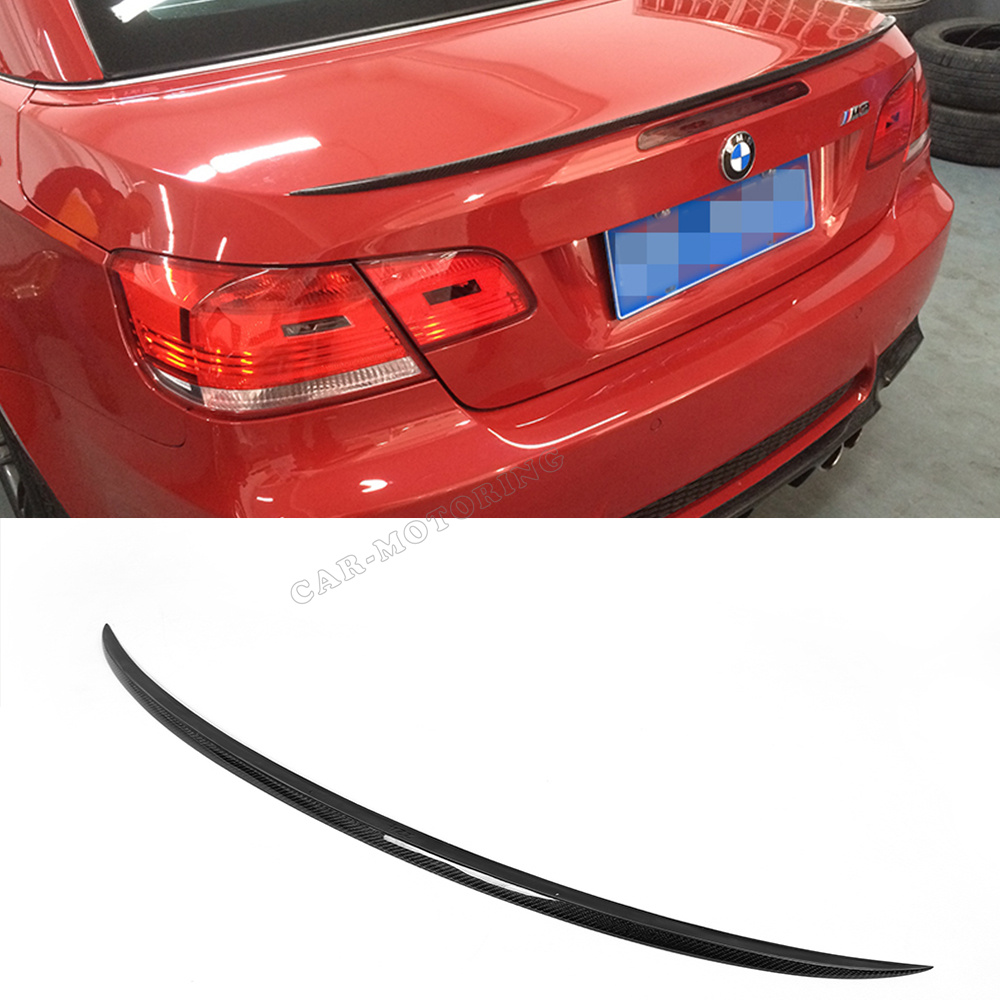 07-13 M3 Style E93 Carbon Fiber Rear Trunk Spoiler, Car Rear Wing spoiler for BMW (Fits E93 325 328 330 335 2007-2013 )<br><br>Aliexpress