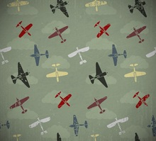 Army green photography backdrop Photo studio newborn backdrops airplane background for boy photo D-7352(China)