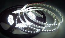 335SMD LED Strip Side emitting 5M 600leds 120Leds/M Side view NON-Waterproof 12V club stair/cabinet Backlighting-WHITE(China)