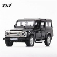1:36 Toy Car Rover Defender Metal Toy Alloy Car Diecasts & Toy Vehicles Car Model Miniature Scale Model Car Toys For Children(China)