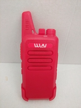 WLN KD-C1 UHF 400-470mhz walkie talkie Antenna body integrated ham CB two way radio classic red color KD-C1 talk walky