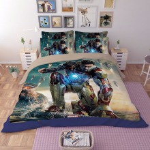 Iron Man Film 3D printing bedding set bedspread bed sheets cartoon Children's Adult duvet covers single full queen king size(China)