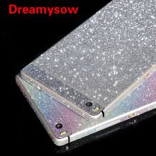 Buy New Bling Glitter Shiny Crystal Diamond Full Body Front Back Wrap Decal Film Sticker Skin Huawei Ascend P8 /P8 Lite for $1.20 in AliExpress store