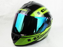 High quality brand Kawasaki motorcycle helmet professional racing full face helmet moto cascos capacete motoqueiro DOT approved